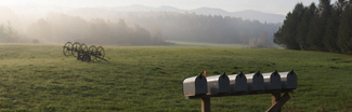 Country mailbox 325x105